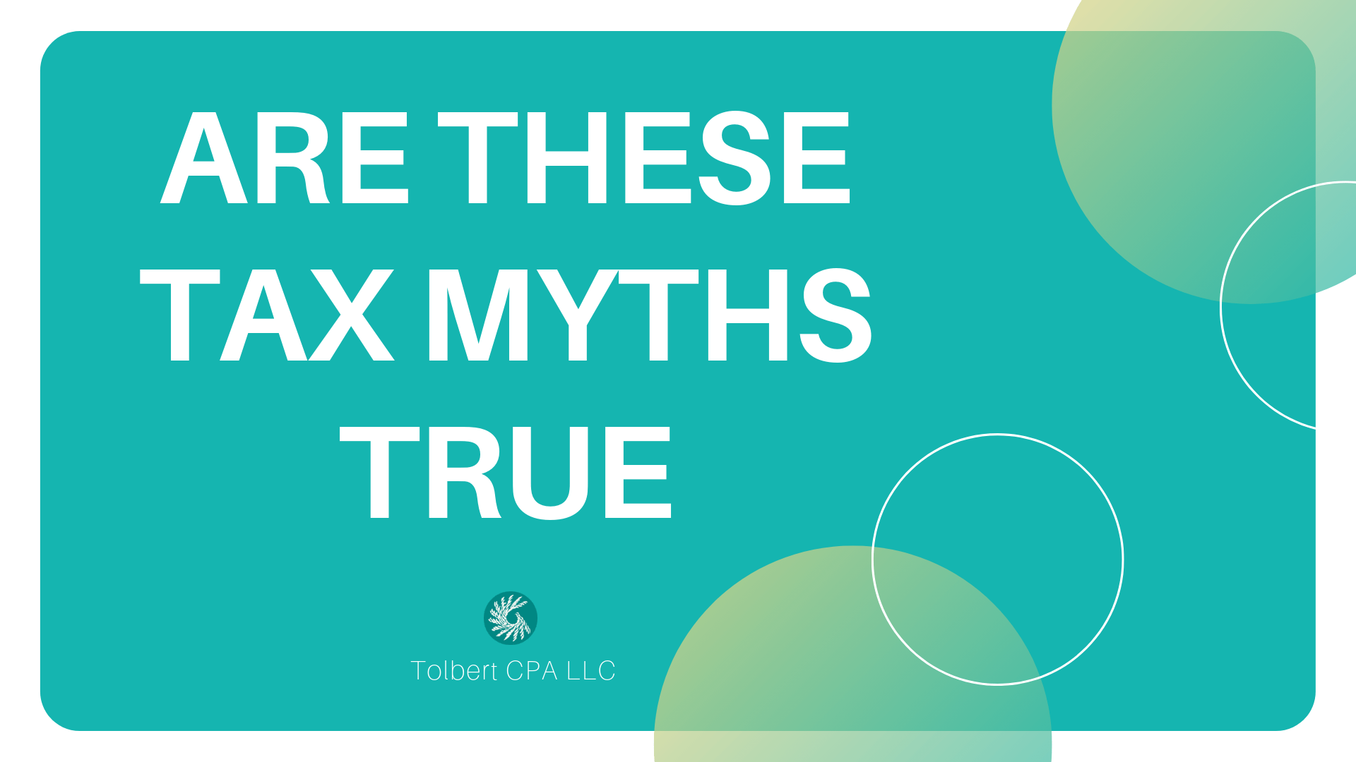 Are These Tax Myths True?